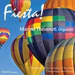 """Fiesta!"" - CD by Maxine Thévenot at the Cathedral of St. John, Albuquerque, New Mexico"